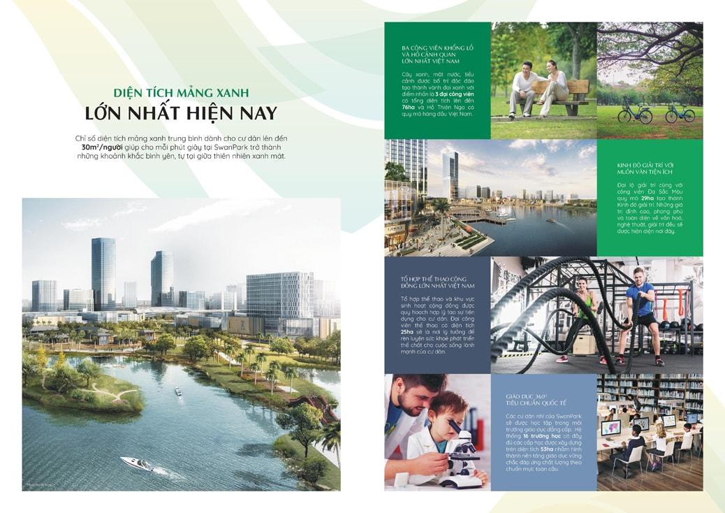 Tiện ích Khu đô thị SwanPark Nhơn Trạch