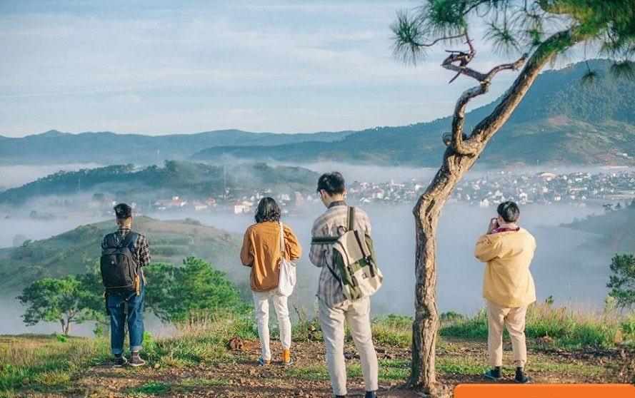 Biệt thự view đồi Đà Lạt